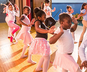 Tiny Dancers Learn Big Lessons